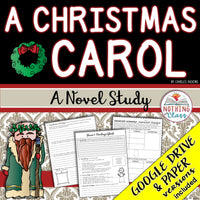 A Christmas Carol Novel Study Unit