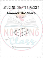 Number the Stars: Comprehension and Vocabulary