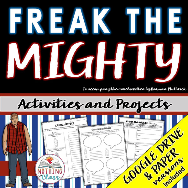 Freak the Mighty: Activities and Projects