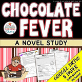 Chocolate Fever Novel Study Unit