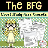 The BFG Novel Study Unit Free Sample