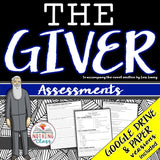 The Giver: Tests, Quizzes, Assessments