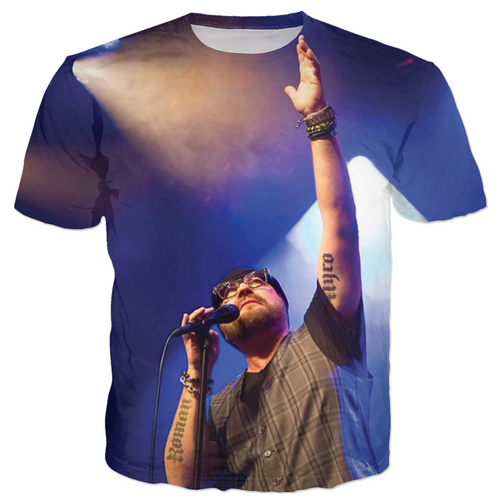Desmond Child LIVE ALBUM / Back & Front T-Shirt