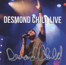 Load image into Gallery viewer, DESMOND CHILD LIVE Autographed CD