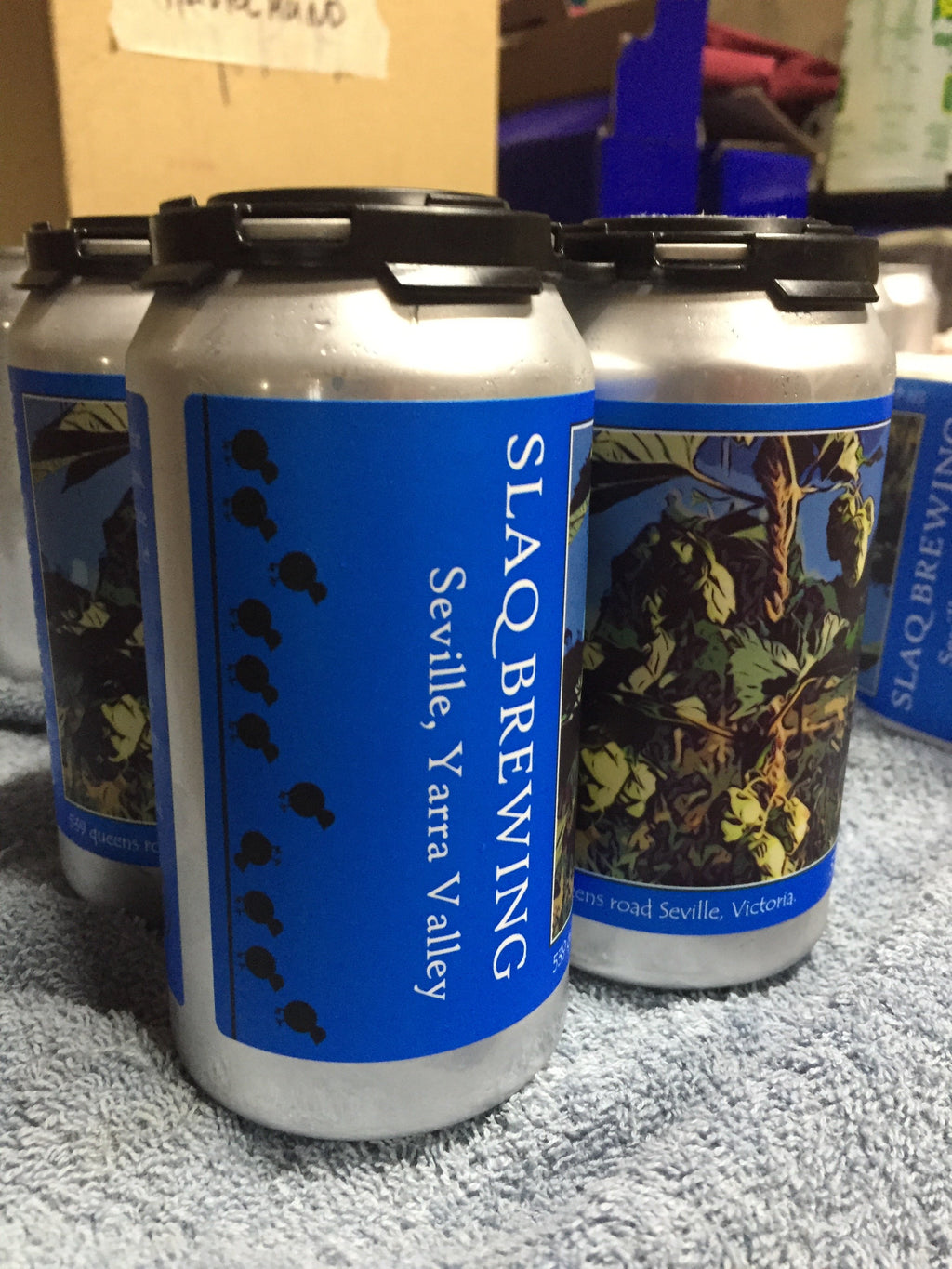 SLAQ BREWING BEER  (coming soon)