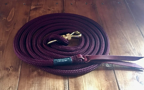 12 inch horse lead line