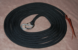 Black 22 inch line with carabiner