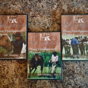 Glenn Stewart 3 set colt starting dvd's
