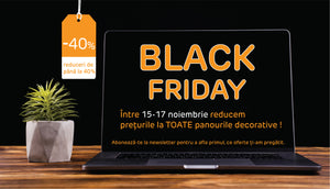 Primul Black Friday la Ambra Deco