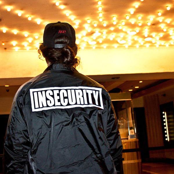 """INSECURITY"" coaches jacket"