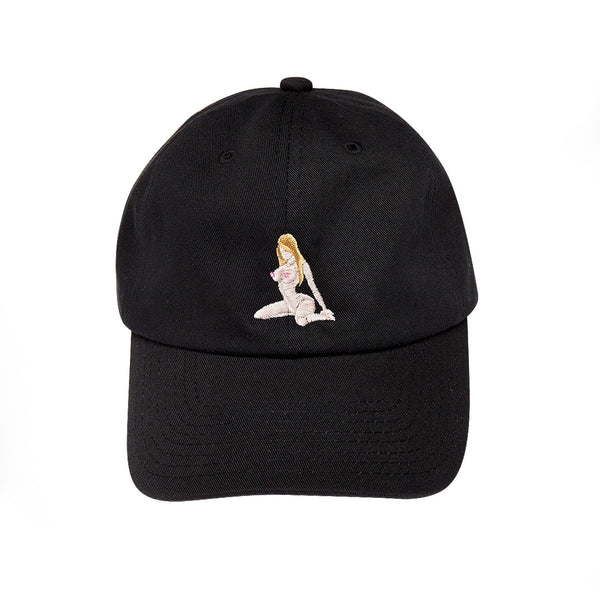 """BLONDE ON BLACK"" cap"