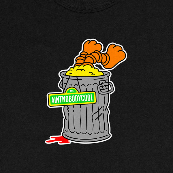 """GROUCH"" tee - black"