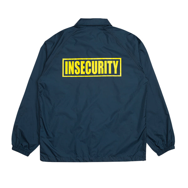 """INSECURITY"" jacket - navy"
