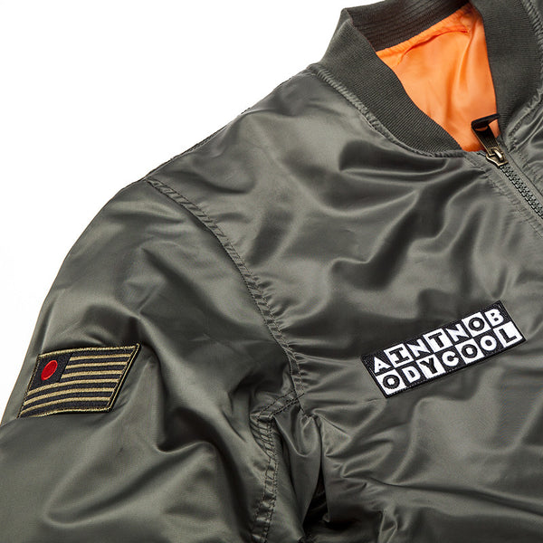 """KIRBSTOMP"" bomber - green"