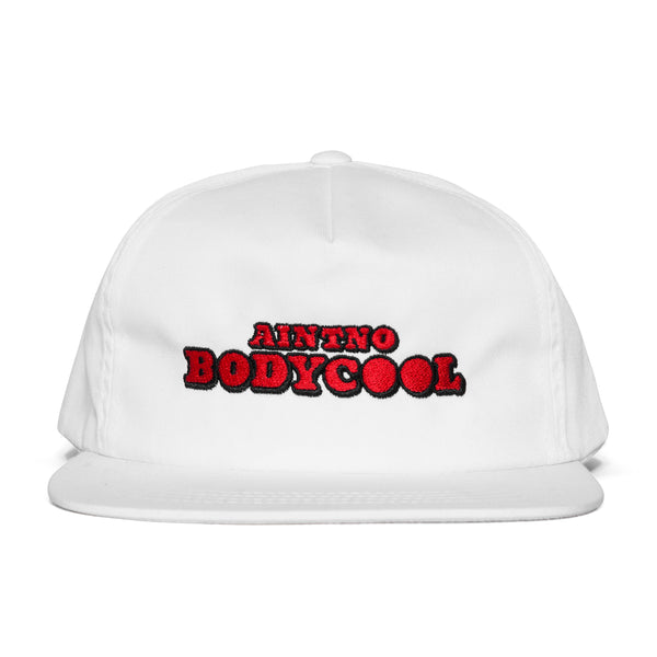 """LAMPOON"" hat - white"