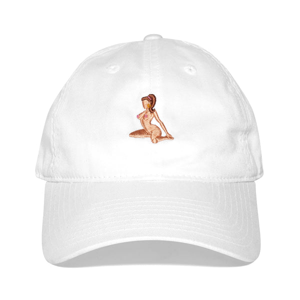 """LENA THE PLUG"" cap - white"