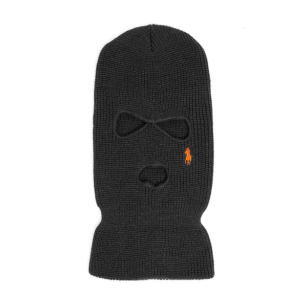 """LO TEAR DROP"" ski-mask - black/orange"