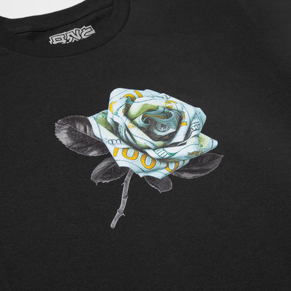 """MONEY ROSE"" tee - black"