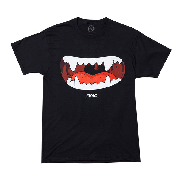 """MOUTH"" tee - black"