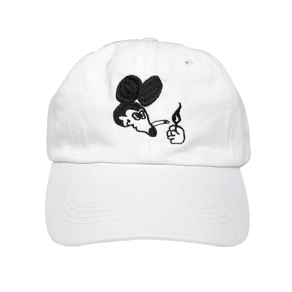 """STICKEY MOUSE"" cap - white"