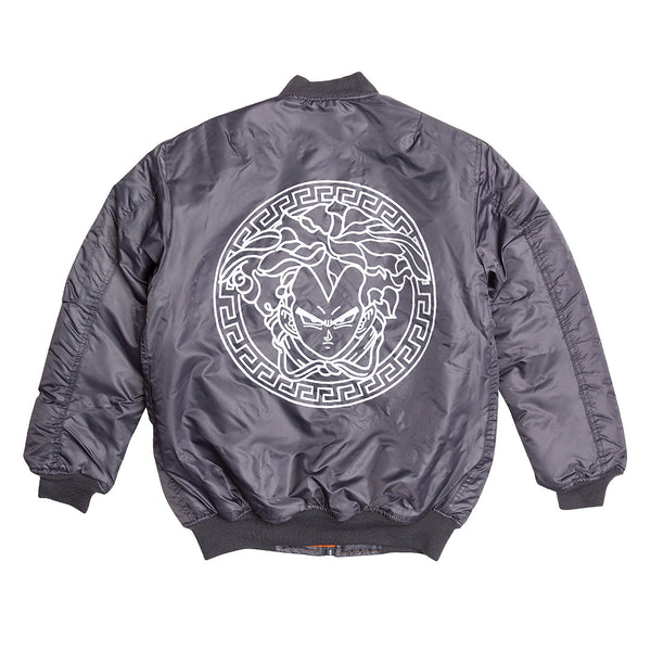 """VEG"" bomber jacket - grey"