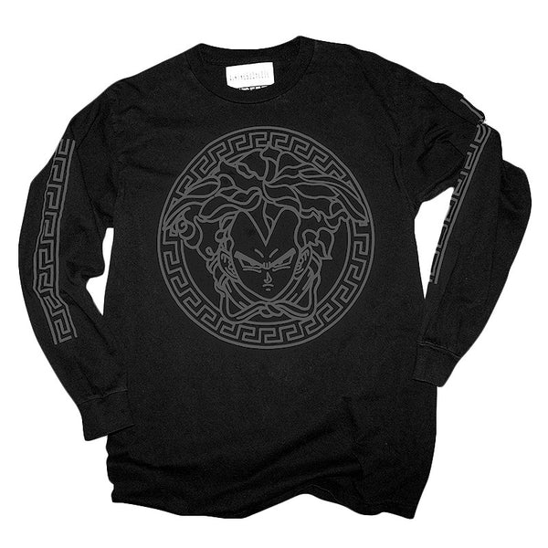 """3M VEG"" long sleeve - black - 3M reflective ink"