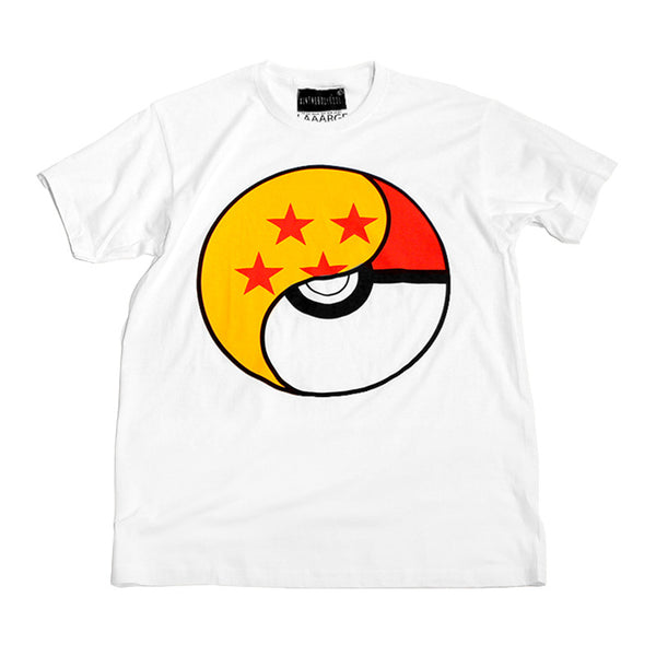 """YIN & YANG"" short-sleeve tee - white"