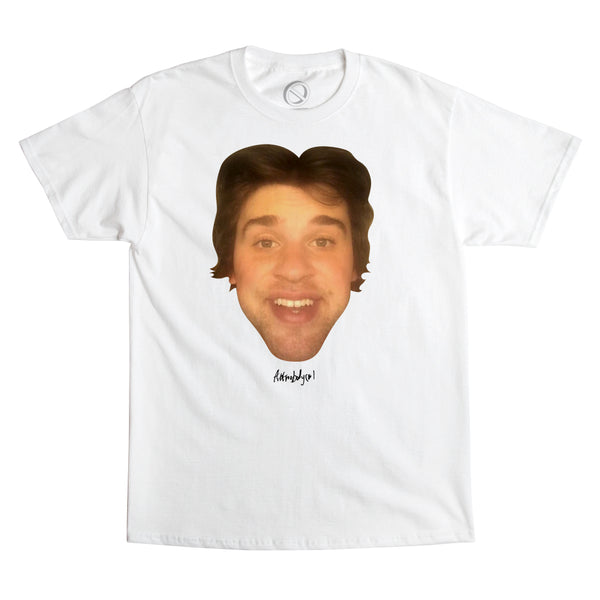 "Nick Colletti - ""THE SAUCE FACE"" - tee - white"