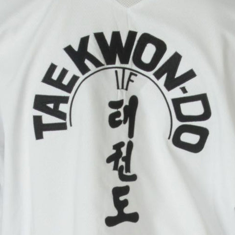 Taekwon-Do TOP TEN 'Premium Gold' ITF Dobok - Black Belt