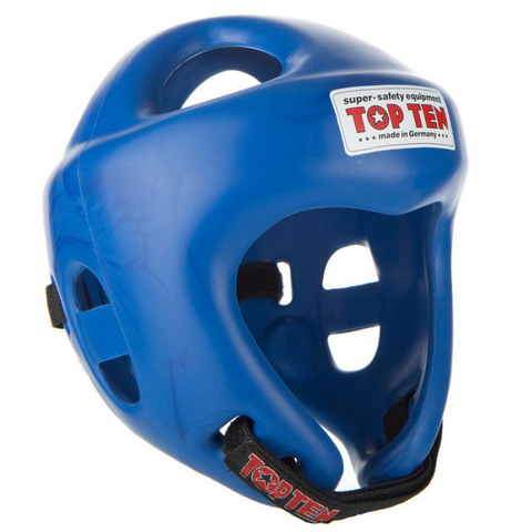 Headguard TOP TEN 'Fight' - Blue