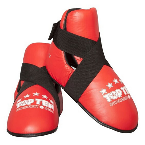 Foot Protector Kicks TOP TEN 'Superfight 3000' - Red