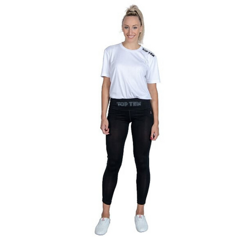 Leggings TOP TEN Womens - Black Mesh