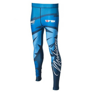 Compression Training TOP TEN Pant - Blue 'Mohican'