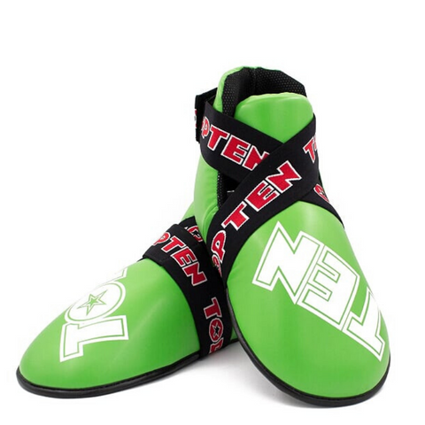 Foot Protector Kicks TOP TEN 'SuperLight' - Glossy Neon Green/White