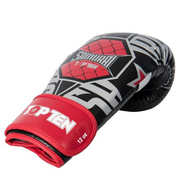 Boxing Gloves TOP TEN 'Samurai' - White/Red