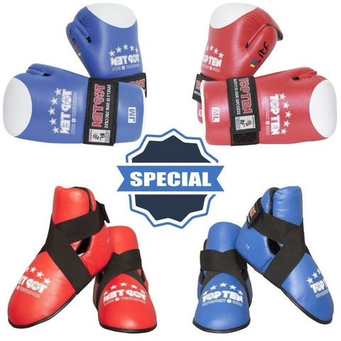 Combo Special : Superfight 3000 Gloves 'n Boots