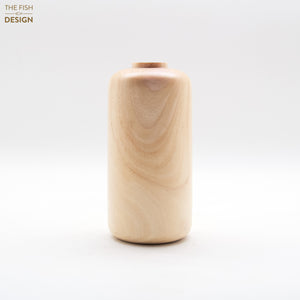 Wooden Vase Cylindrical