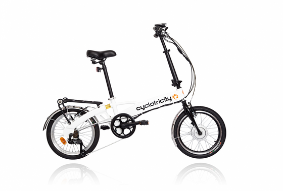 Cyclotricity Wallet Folding Electric Bike