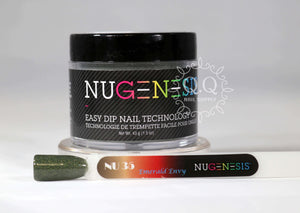 Nugenesis Dip Powder - NU 35 Emerald Envy