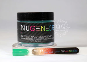 Nugenesis Dip Powder - NU 45 Four Leaf Clover