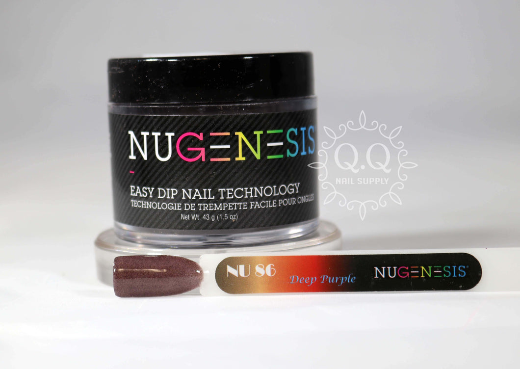 Nugenesis Dip Powder - NU 86 Deep Purple