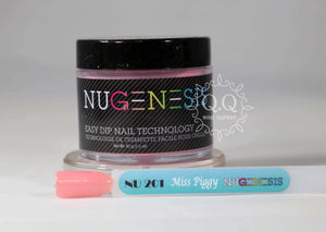 Nugenesis Dip Powder - NU 201 Miss Piggy