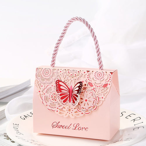 Golden butterfly candy Package