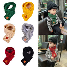 Load image into Gallery viewer, Fashion Winter Kids Scarves