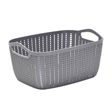 Load image into Gallery viewer, Plastic Rectangular Storage Basket
