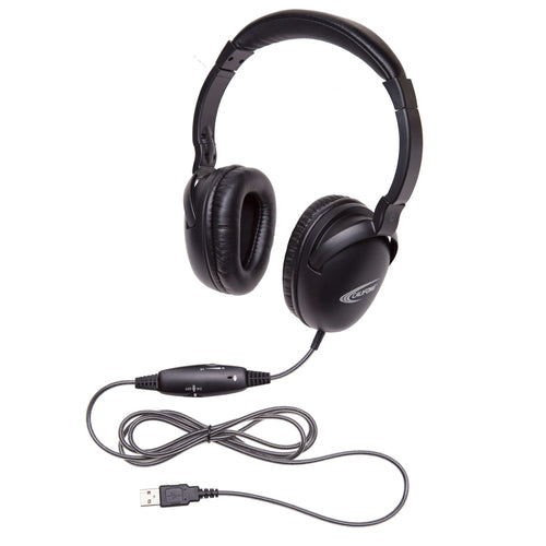 Califone NeoTech Plus USB Headset with In-lin Mic