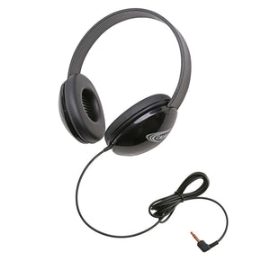 Listening First Stereo Headphone - Black - Learning Headphones