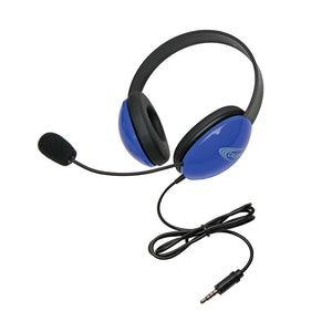Listening First Stereo Headset - Blue - To Go Plug - Learning Headphones