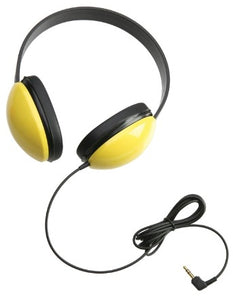 Listening First Stereo Headphone - Yellow - Learning Headphones
