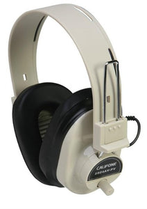 Deluxe Monaural Headphone with Volume Control Califone - Learning Headphones